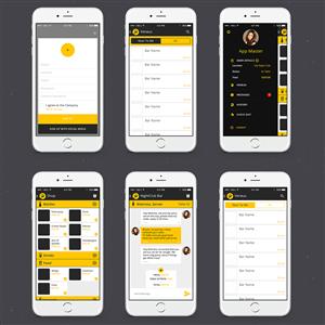 App Design by SergeyBrin - Bottle Service Ordering/Messenger  App for Nigh ...