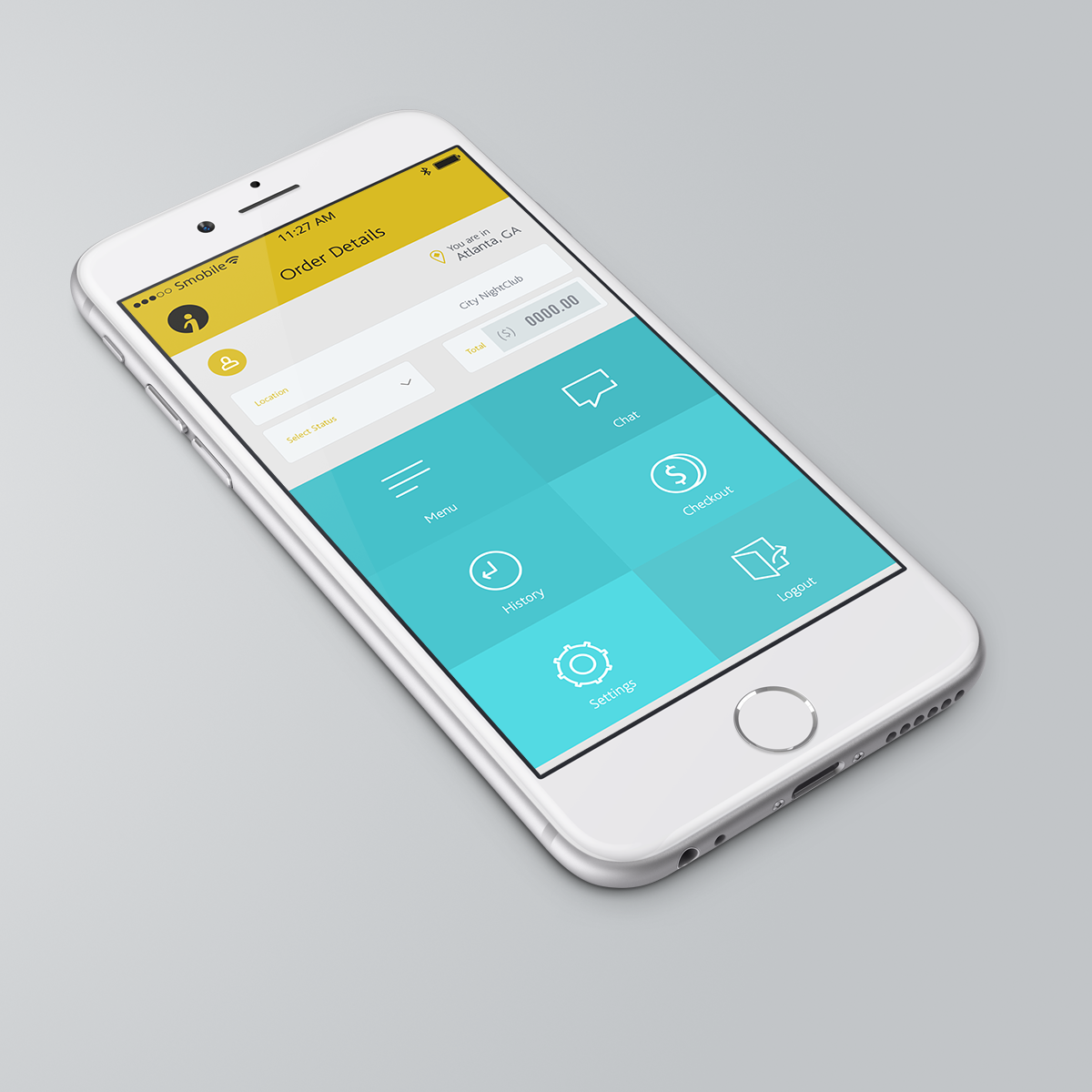 Elegant playful app design for instant communication inc by sensor design 5100775 Architecture designing app