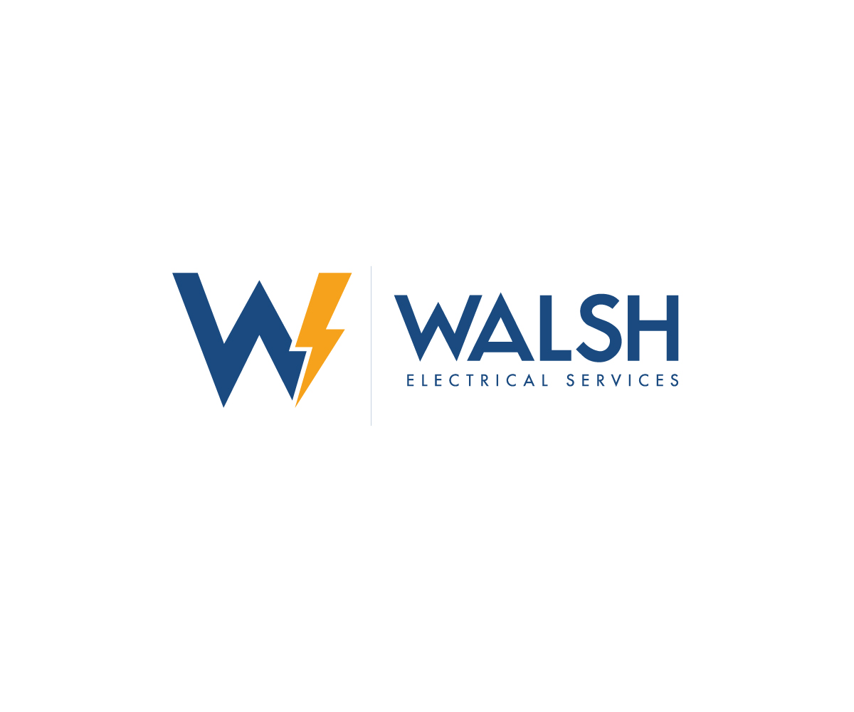 Business Logo Design for Walsh Electrical Services by Zbr | Design ...