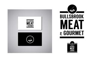 Logo Design for Bullsbrook Meat and Gourmet by Mandy Illustrator