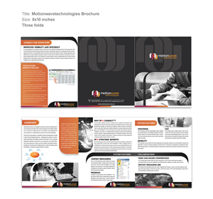 Brochure Design by Saira1 - IT Solution company needs a brochure design for ...
