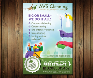 Flyer Design by Mila@CreativeMotions - AVS Flyers