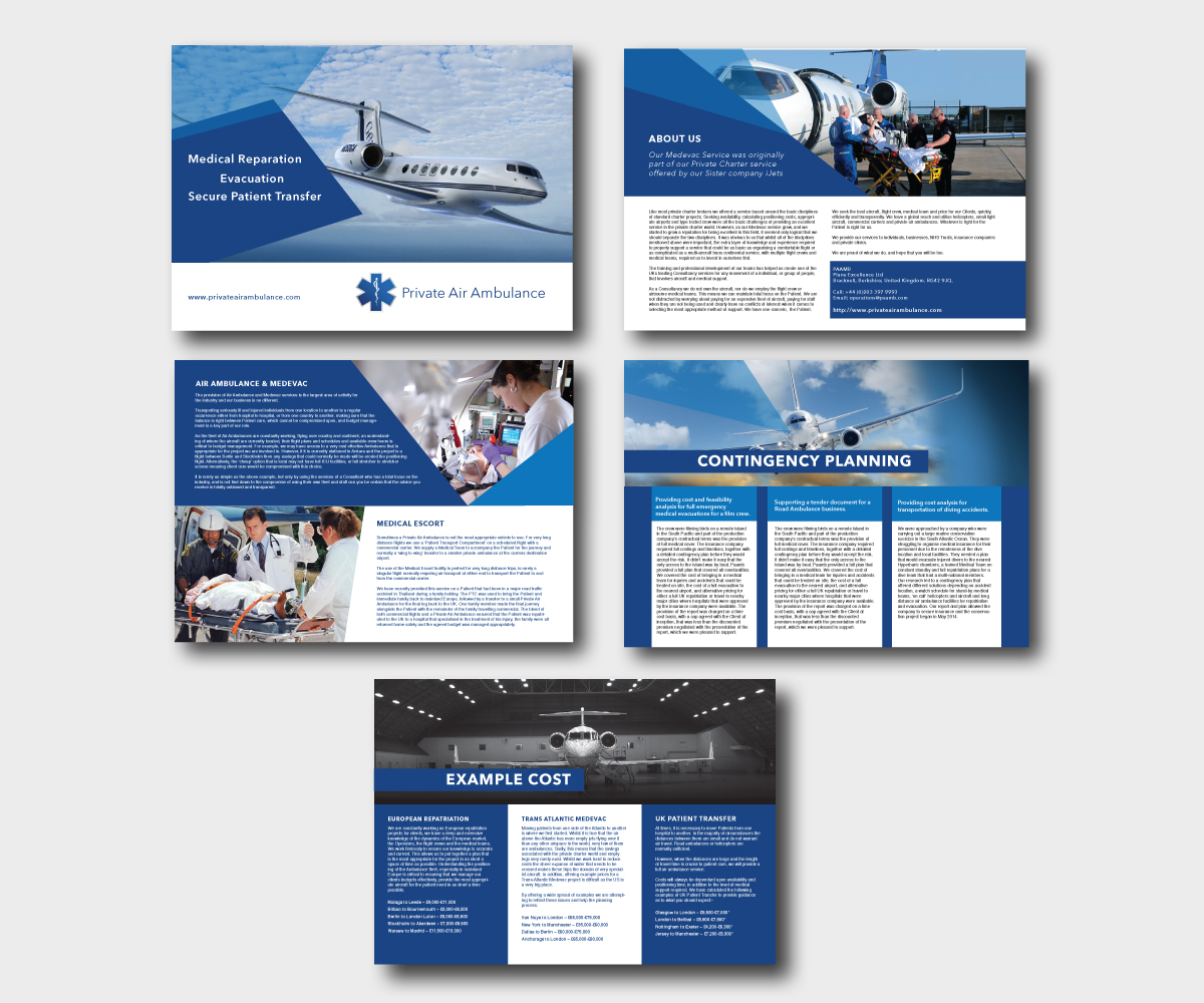 Serious professional brochure design design for alan Create a blueprint