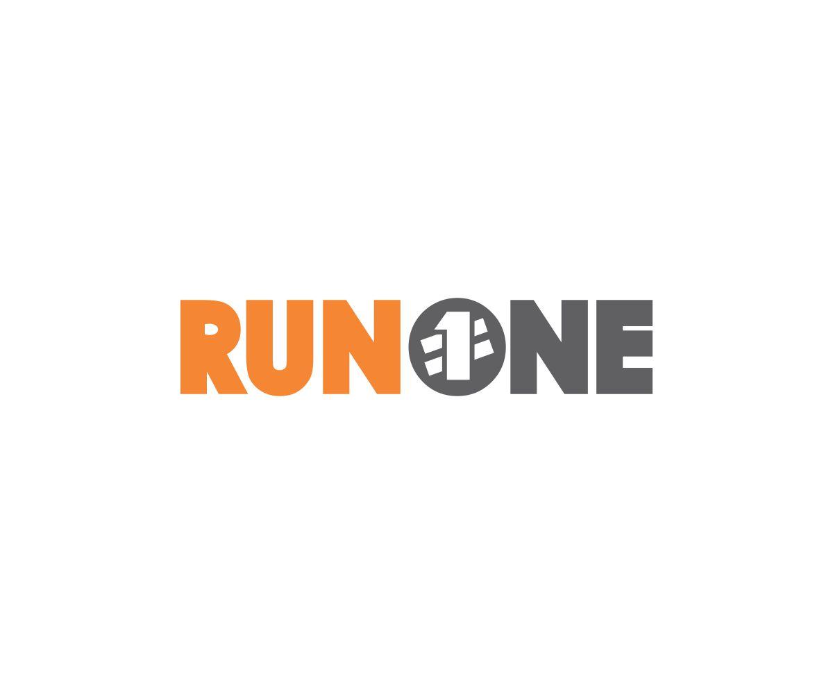 logo design for runone by j mahesh design 5108071
