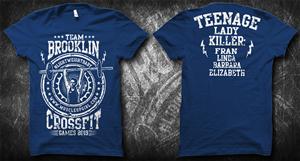 T-shirt Design by Jonya - Brooklin Crossfit T Shirt 1