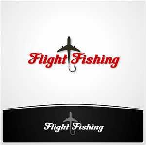 Logo Design by Envisi Designs - Logo Design for flightfishing.com Cheap Flight ...