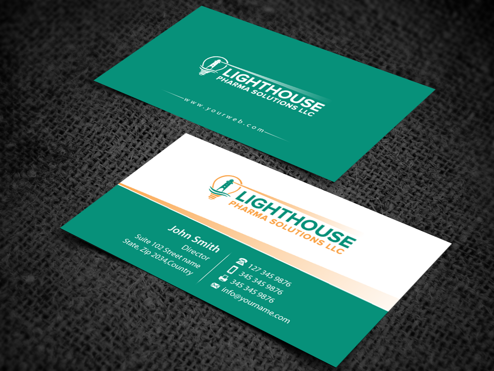 Elegant, Serious, Business Business Card Design for LightHouse ...