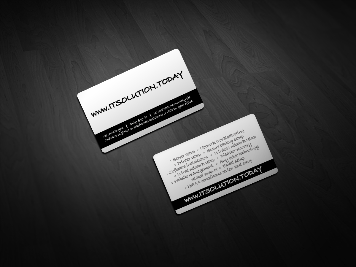 Printer Business Card Design for Trade Like Pros by Scorpius design ...