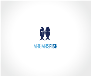 Logo Design for Mr and Mrs Fish Logo by JACQUI