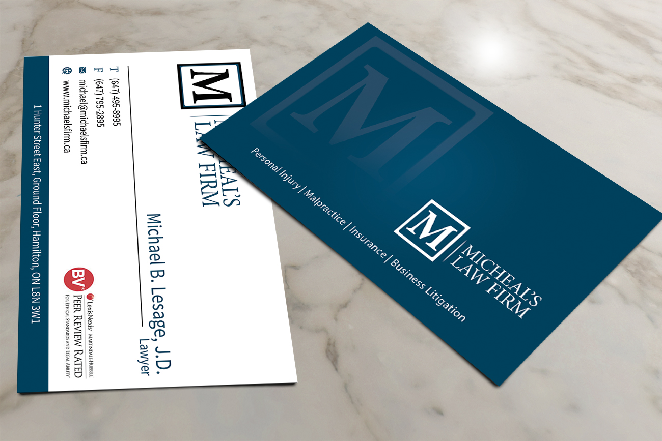 72 elegant business card designs business business card design business card design by creativmindsja for michaels law firm design reheart Image collections
