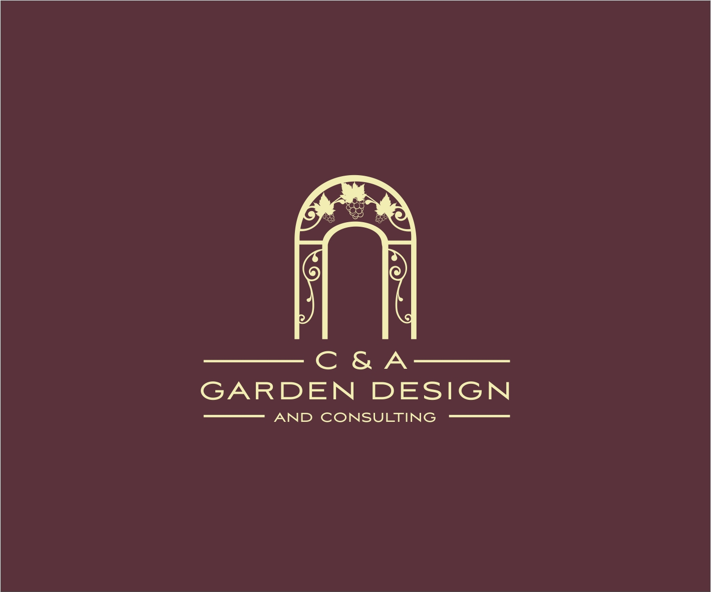 Professional, Elegant, Business Logo Design for C & A Garden Design ...