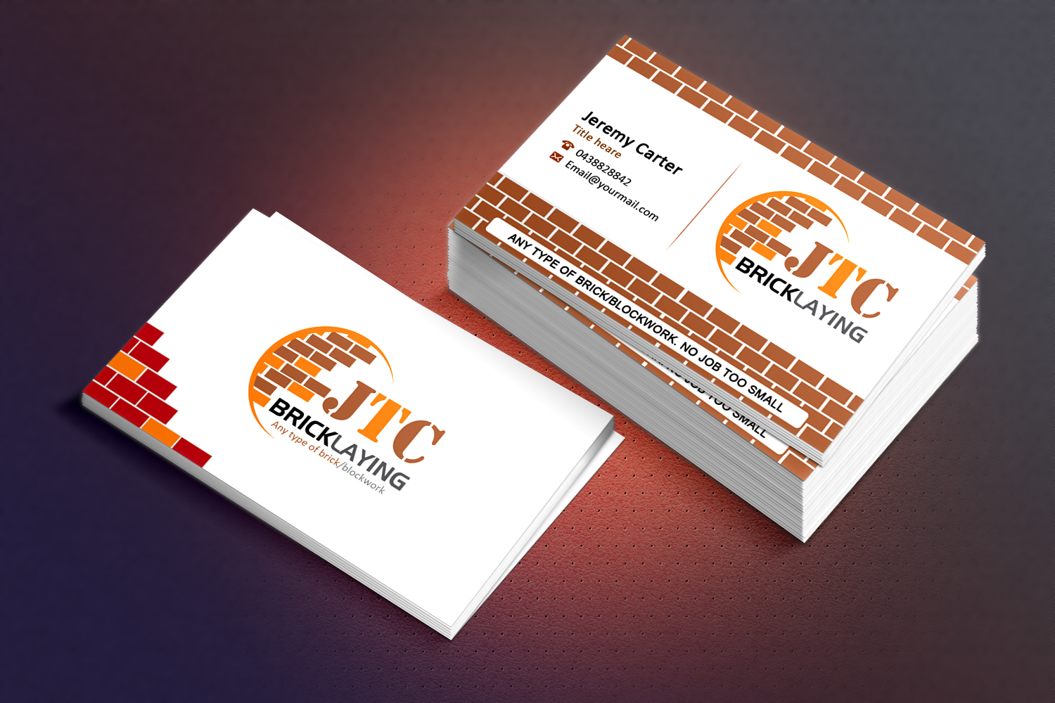 Business Card Design for Jeremy Carter by Sandaruwan | Design #5055484