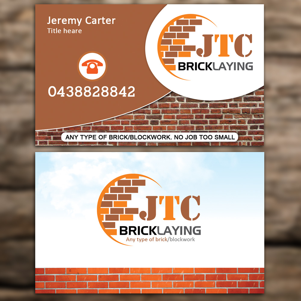 Business Card Design for Jeremy Carter by Sandaruwan | Design #5055752