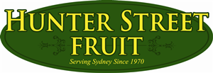 Logo Design job – Hunter Street Fruit Logo (Sydney, Australia) – Winning design by ClarityGraphia