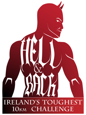 Logo Design job – Hell & Back - Ireland's Toughest 10km Challenge!  Sports Events Company - to design a brand logo for – Winning design by Rik Bastin