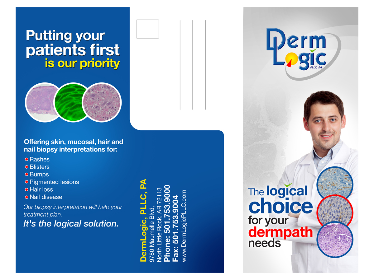 Modern, Professional, Shipping Brochure Design for DermLogic, PLLC ...