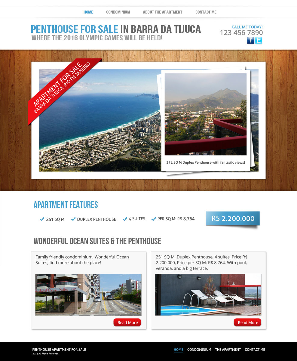 83 upmarket professional apartment web designs for a for Apartment web design