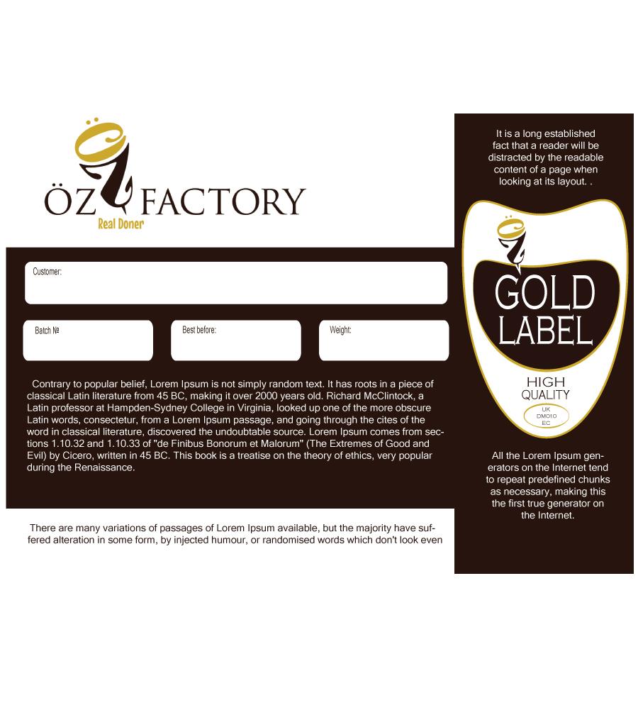 Elegant playful factory sticker design for öz in kuwait design 5089053