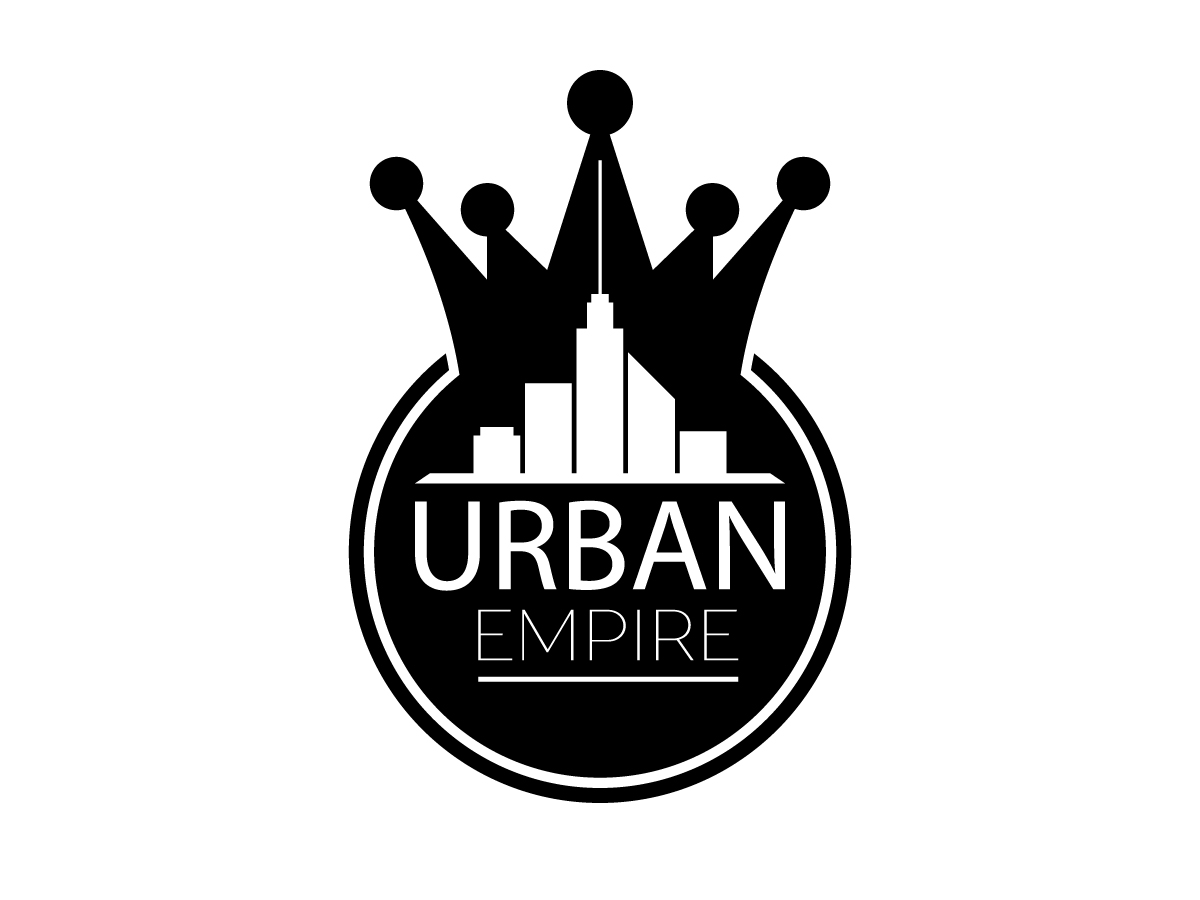 clothing logo design for urban empire by jamie tuckey