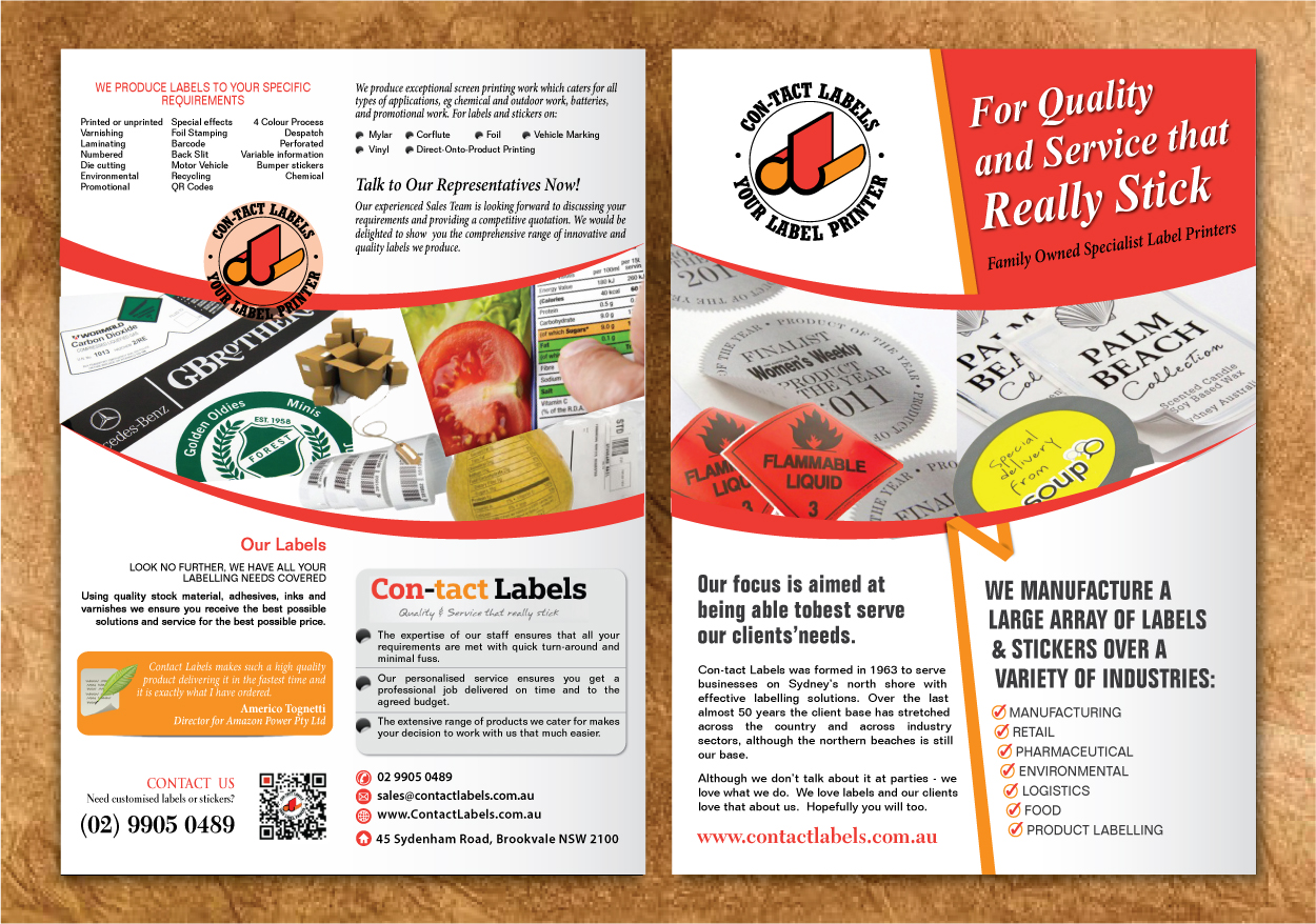 modern professional business flyer design for a company by sbss
