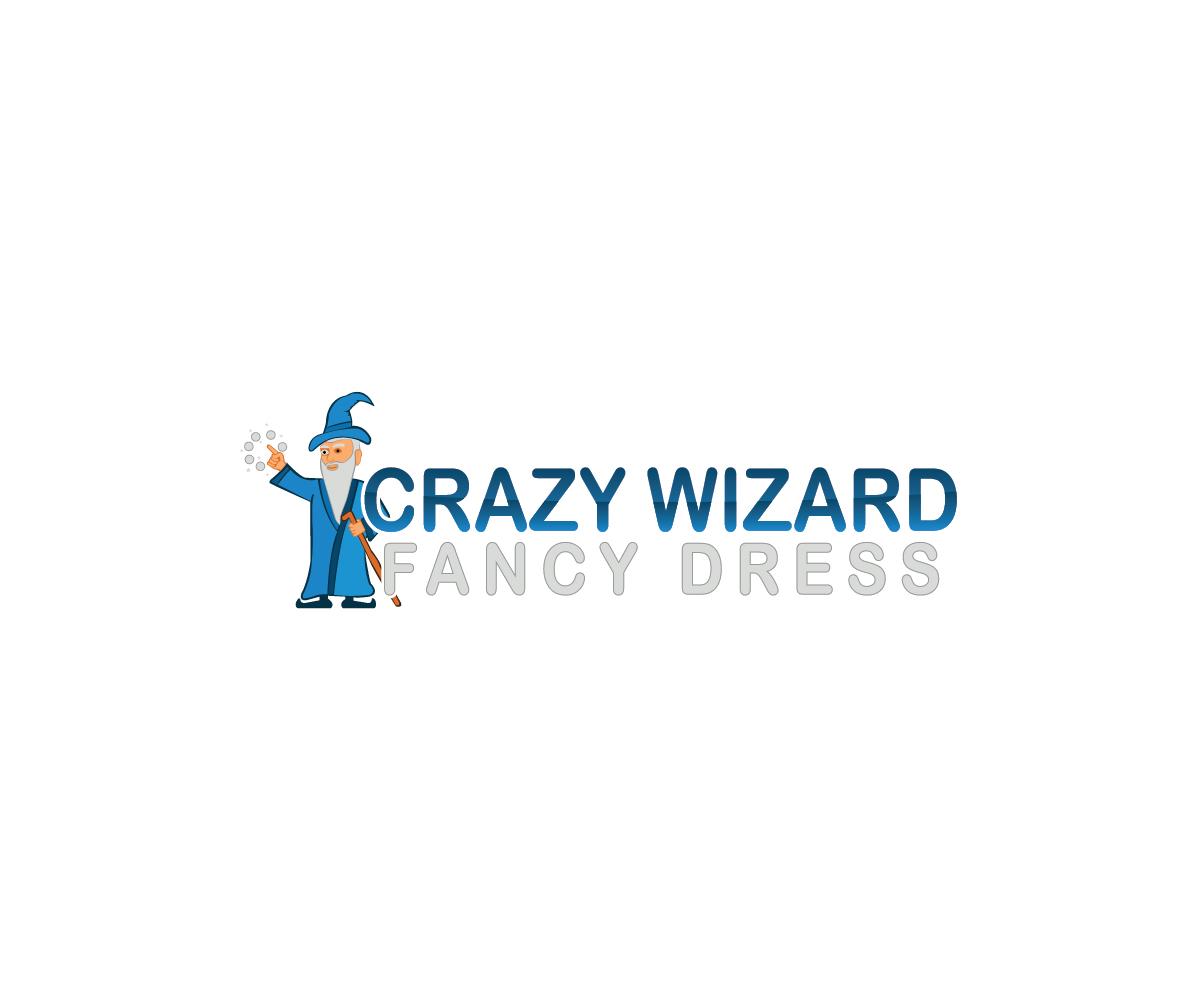 Spielerisch bunt shop logo design for crazy wizard fancy for Logo creation wizard