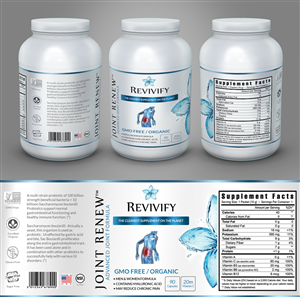 label design job nutritional supplement products label