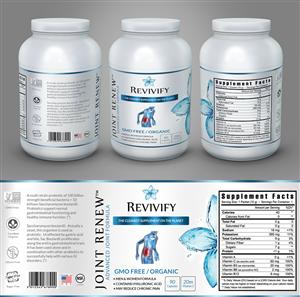 label design job nutritional supplement products label