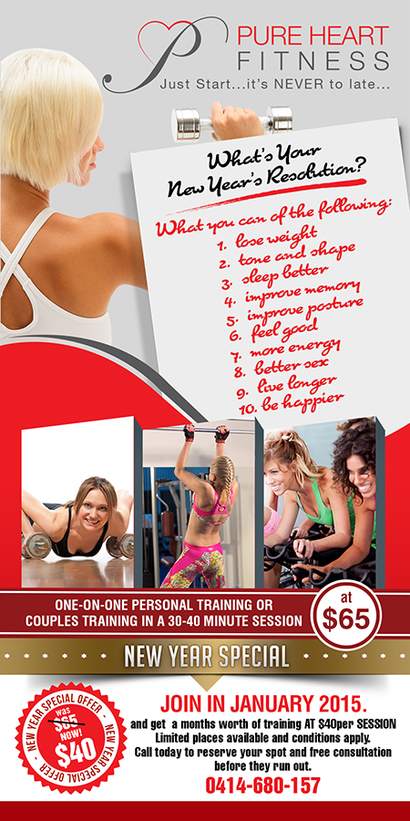fitness flyer design galleries for inspiration