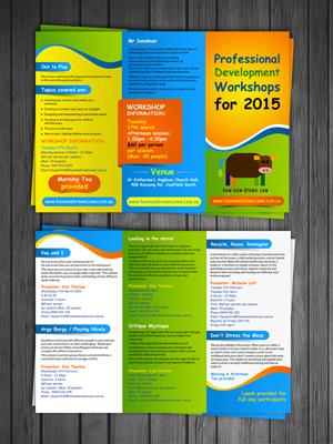 Brochure Design by debdesign - Brochure for 2015 workshops