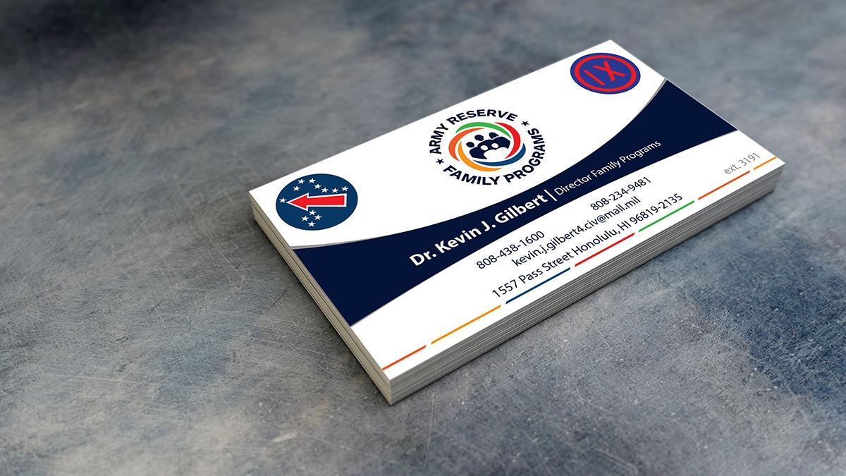 Modern, Upmarket, Training Business Card Design for 9th Mission ...
