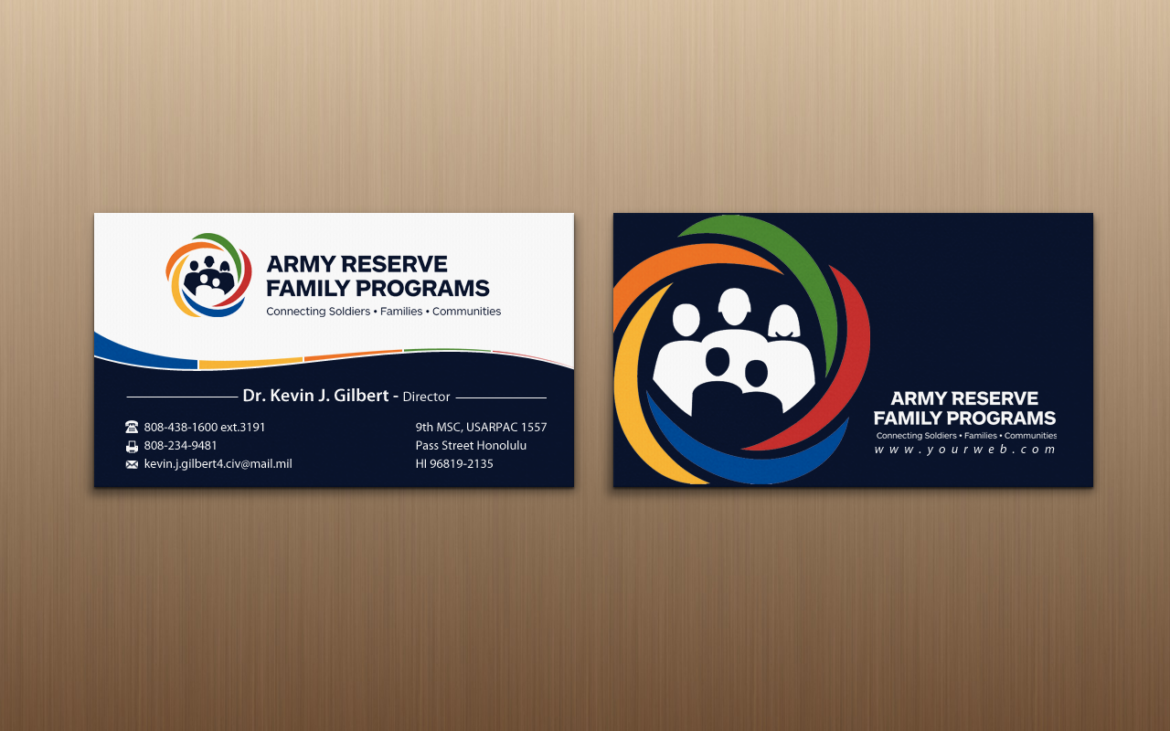 Modern, Upmarket, Training Business Card Design for 9th Mission ...