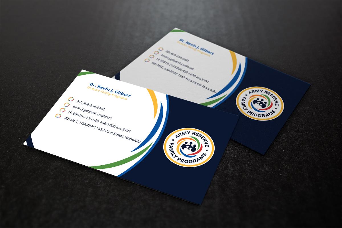 Modern, Upmarket Business Card Design for 9th Mission Support ...