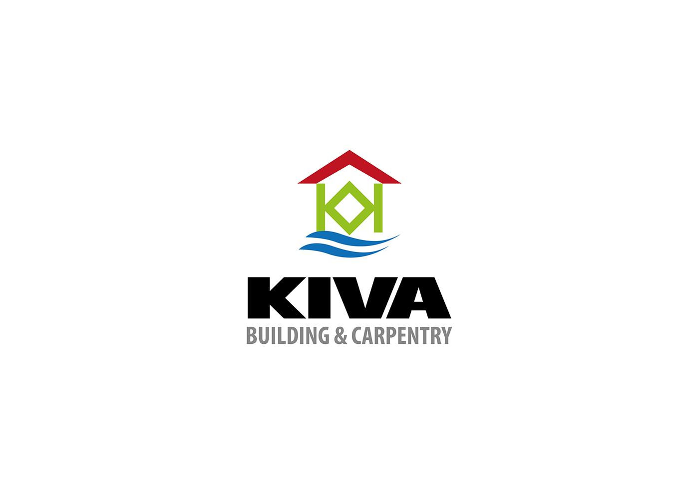 Bold professional building logo design for kiva building for Professional building designer