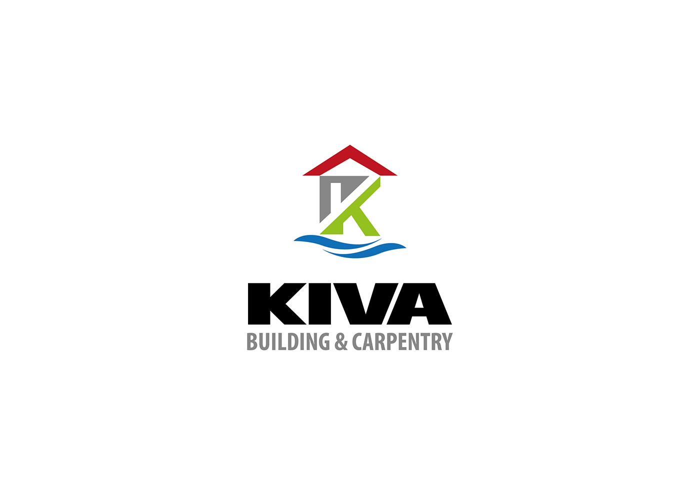 Bold professional building logo design for kiva building for Professional building designer