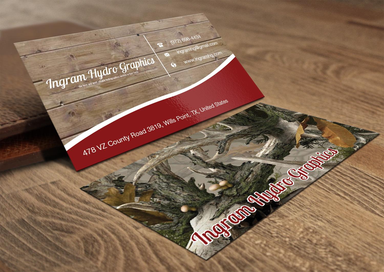 Masculine, Bold, Graphic Design Business Card Design for Ingram ...