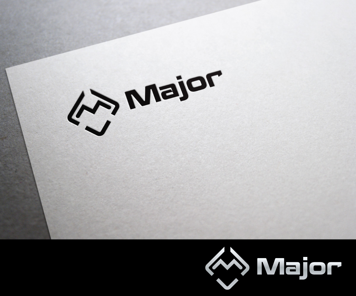 masculine bold industrial logo design for major or major open to ideas by sergio coelho