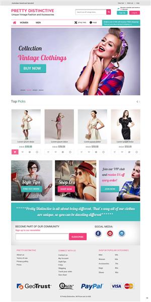 Web Design by pb - PRETTY DISTINCTIVE WEB DESIGN PROJECT