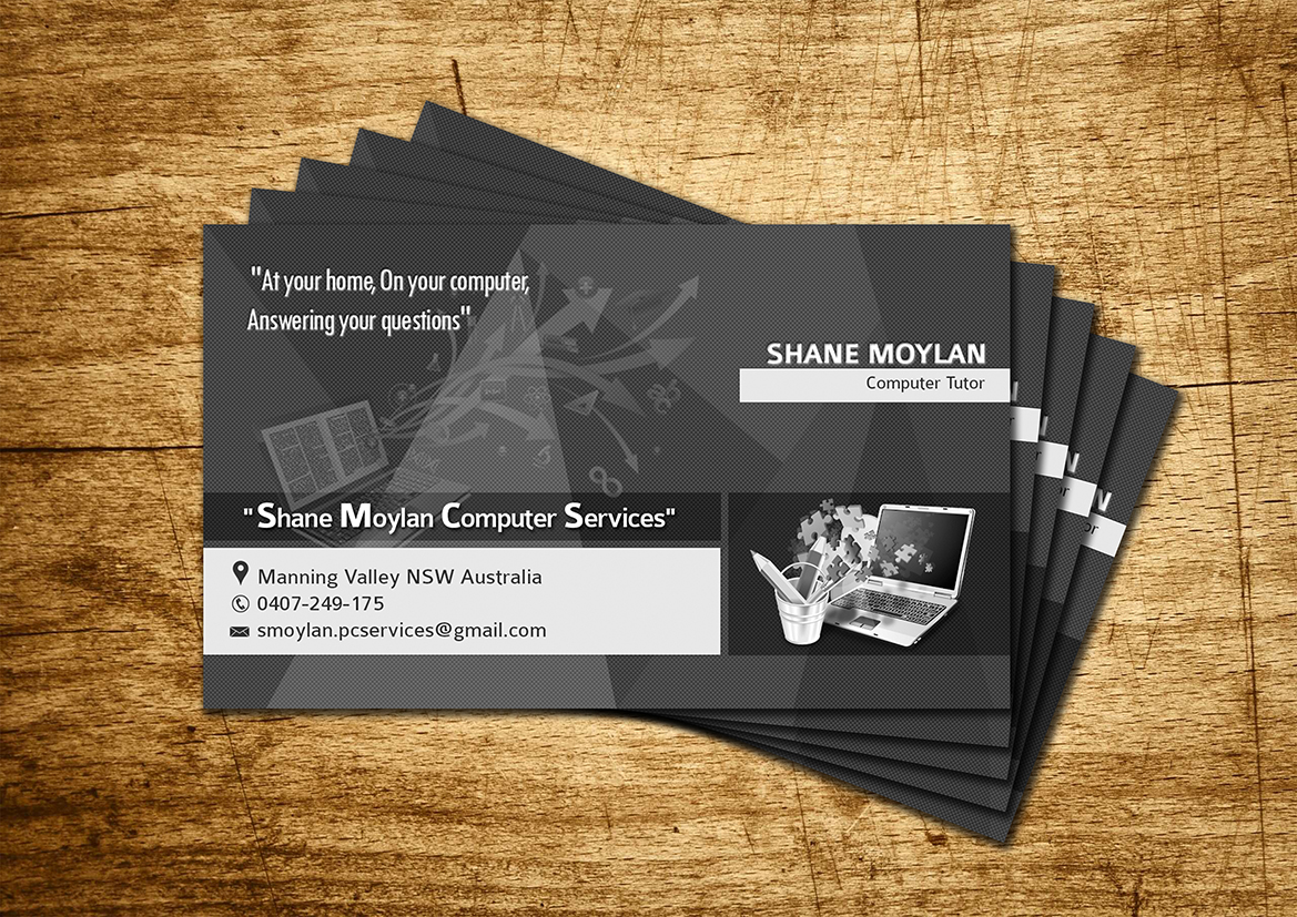 Modern personable flyer design for shane moylan computer services flyer design by sd web creation for computer tuition business needs business card and advertising flyer reheart Gallery