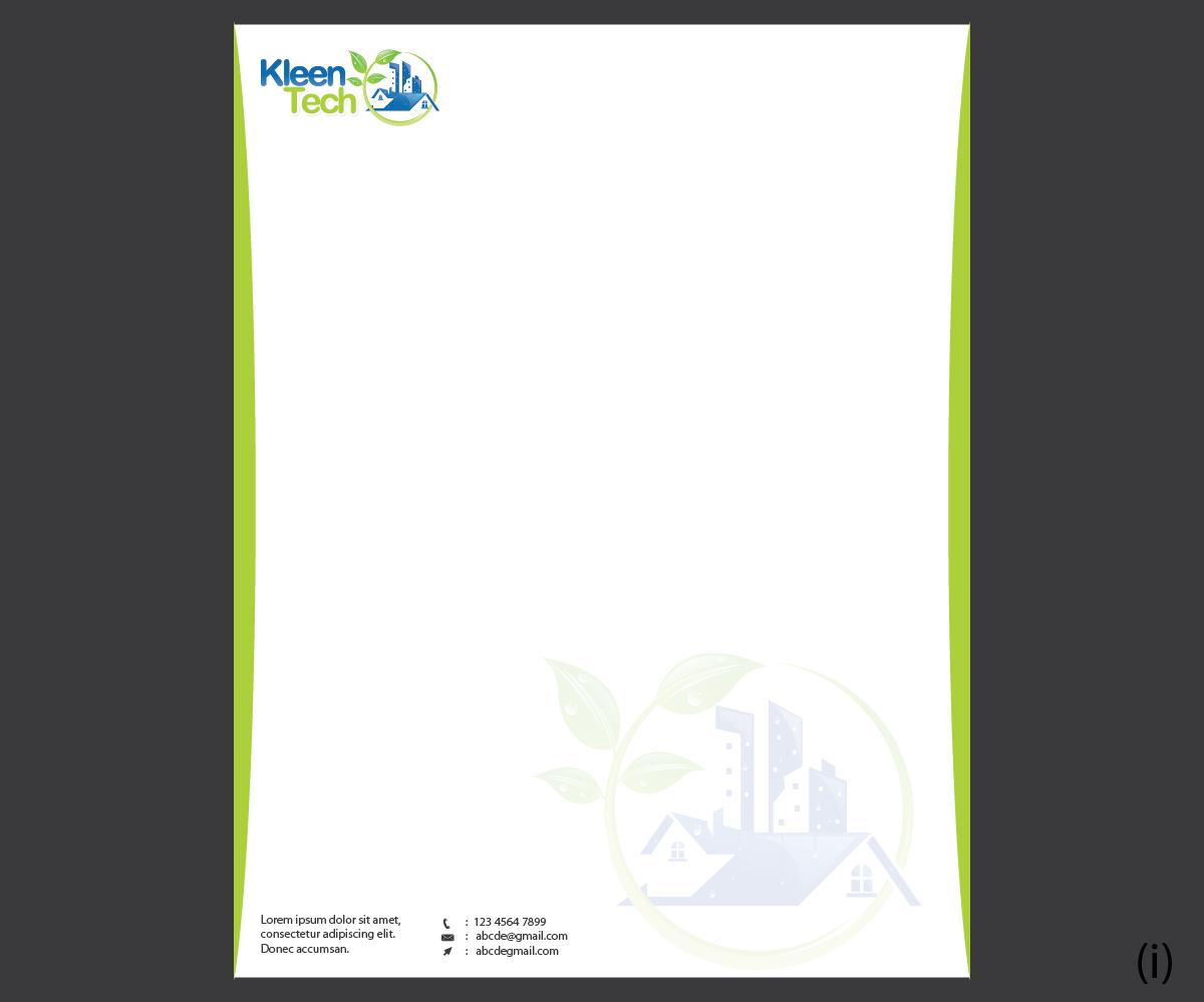 Modern, Elegant Letterhead Design for Mohamed Abdalla by Esolbiz ...