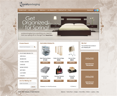 Deal Of The Day Website Design And Business Name 261551