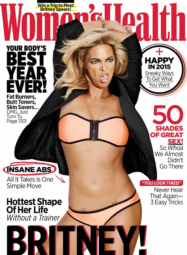 Britney Spears Lookalikes: 38 Alternative Women's Health Magazine Covers