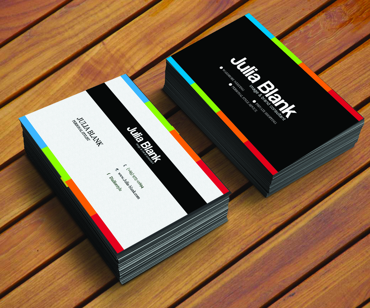 Name Card Design By SmartAppsART For This Project