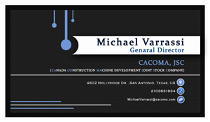 Name Card Design by shiranguy - Michael Name Card Design