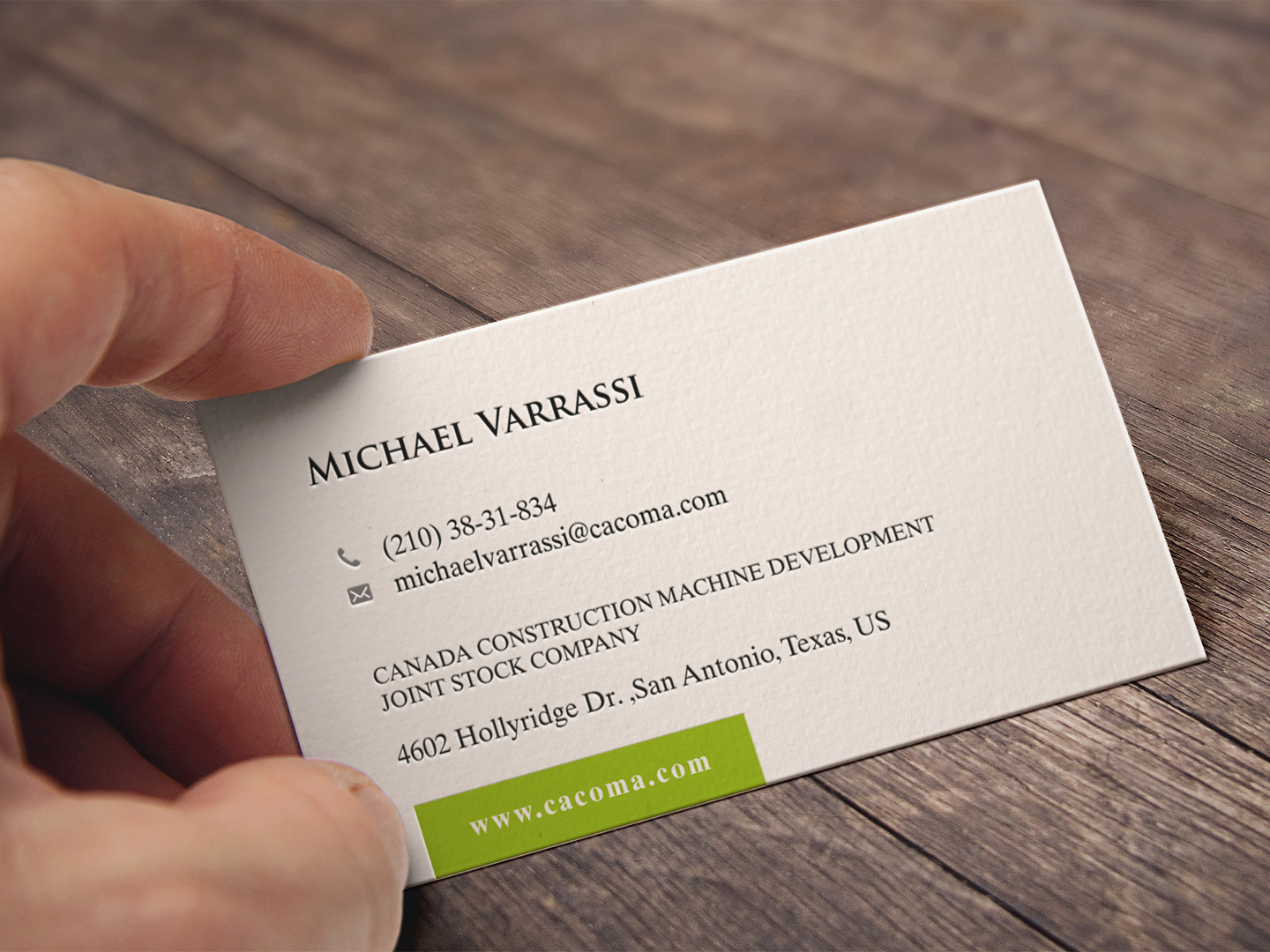 5 Traditional Professional Name Card Designs for a business in ...