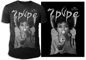 T-shirt Design by swo0osh - 7Pipe Iconic Photo Tshirt Design