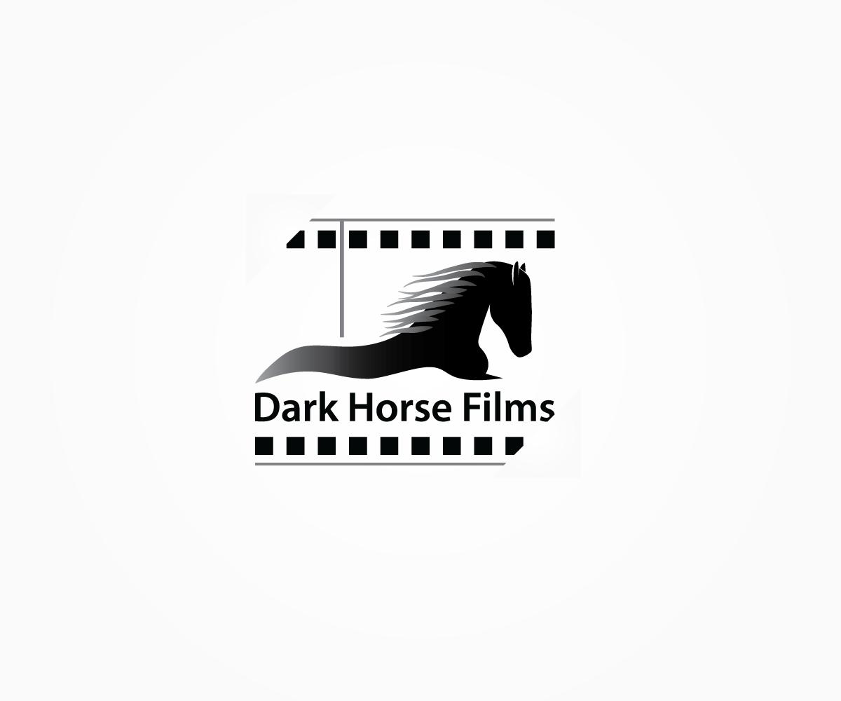 Modern Serious Film Production Logo Design For Dark Horse Films By Jdsc Design 5182919