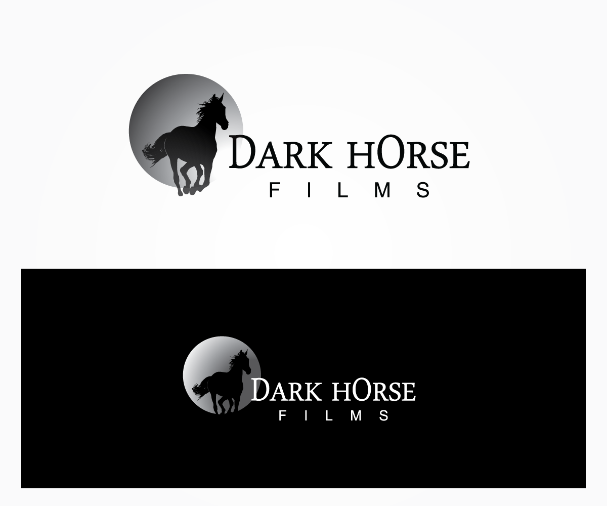 Modern Serious Film Production Logo Design For Dark Horse Films By Jdsc Design 5183128