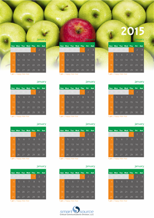 Calendar Design by barinix