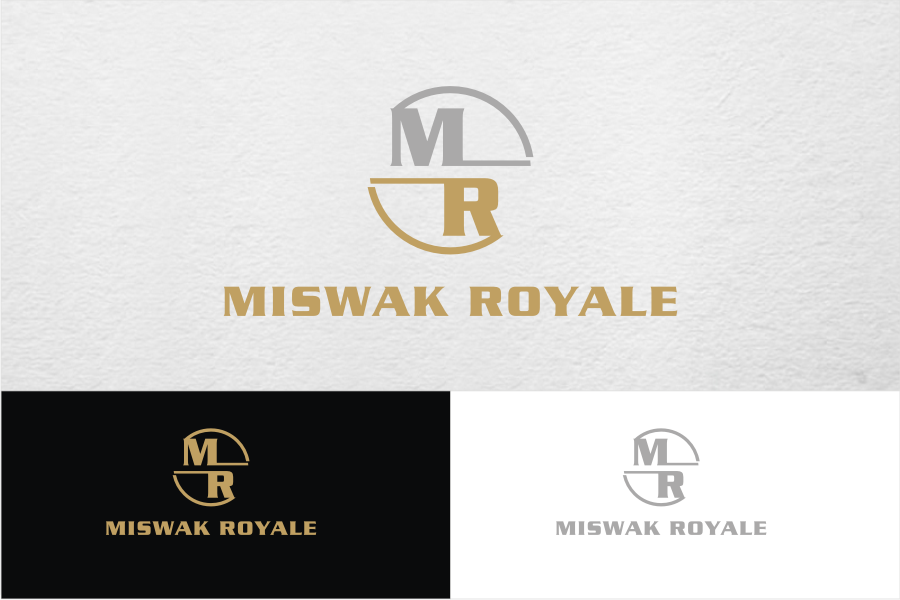 Serious traditional it company logo design for miswak royale by