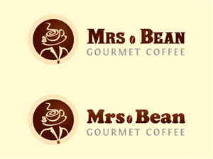 Logo Design job – Logo for 'Mrs. Bean Gourmet Coffee Service ' – Winning design by Goh